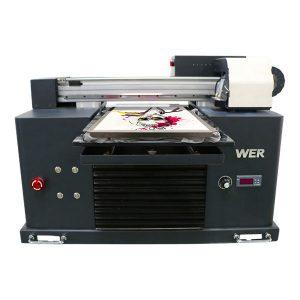優質低價環保溶劑平板打印機價格便宜/數字平板T卹打印機