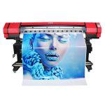 寬幅6色柔印橫幅貼紙溶劑噴墨打印機