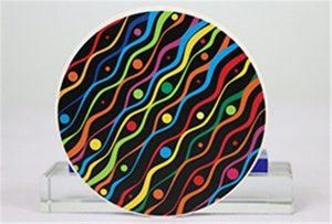 來自Rioch head uv WER-G2513UV的陶瓷印刷樣品