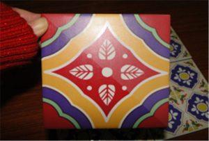 在A2 uv打印機WER-D4880UV上打印的瓷磚樣品