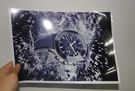 燈泡由3.2米(10英尺)eco溶劑打印機WER-ES3202打印2