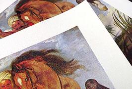 油畫布由2.5米(8英尺)eco溶劑打印機WER-ES2501打印