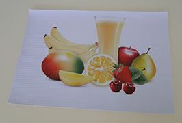 PVC橫幅由3.2米(10英尺)eco溶劑打印機WER-ES3201打印