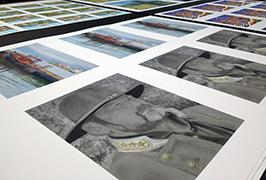 照片紙由1.8米(6英尺)eco溶劑打印機WER-ES1802打印2
